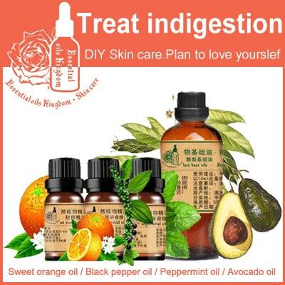 100% Pure Plant Essential Oils Brazilian Imports Sweet Orange / Black Pepper / Peppermint / Avocado Oil 10ml Skin Care SET riddhi patel and yogesh jasrai antifungal essential oils against plant fungal pathogens