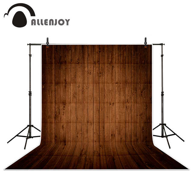 Beautiful Allenjoy Photography Backdrops Light Coffee Color Wood Wood Brick Wall  Backgrounds For Photo Studio Photo