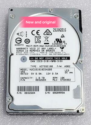 Accessories & Parts Please Contact Me Spirited 100%new In Box 3 Year Warranty Huc101818cs4200 1.8tb 2.5inch 12gb Sas Need More Angles Photos Chargers