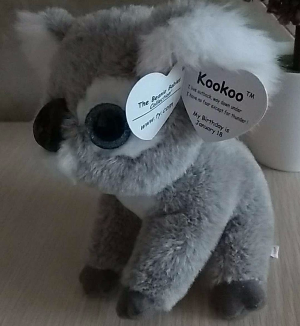 kookoo koalas with tag and label ty beanie babies soft toys stuffed animals  kid toys whosale-in Stuffed   Plush Animals from Toys   Hobbies on ... c0c0c47ae6a8