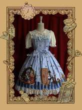 Infanta ALICE STORY Printing Sweet Lolita Dress JSK