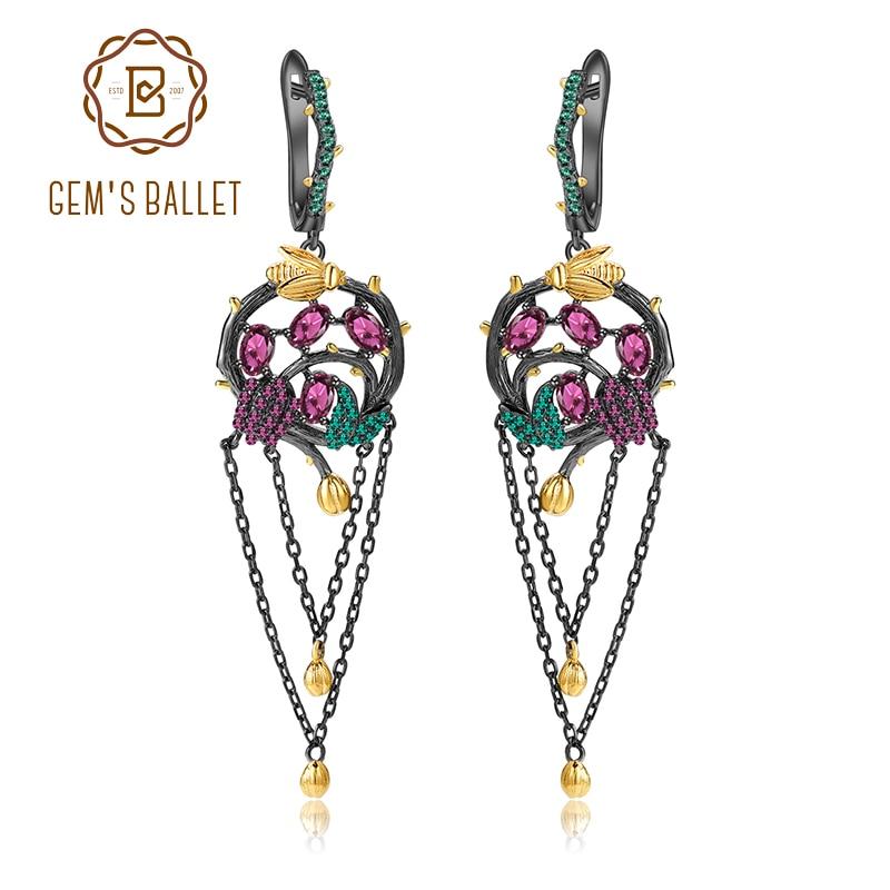 London Blue Quartz With Bee Wholesale Gemstone Fashion Jewelry Drop Earrings