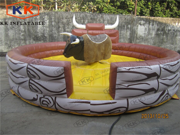 round inflatable bull riding machine Cheap rodeo bull for rental ...