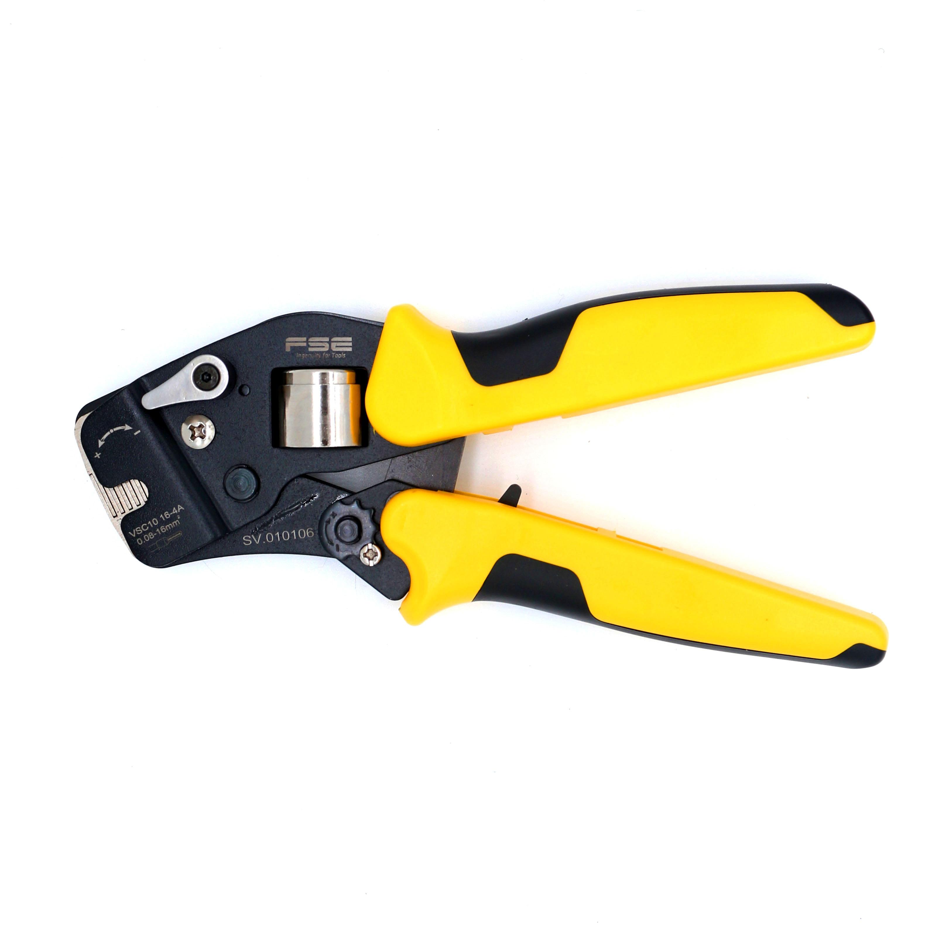 HSC10 16-4A mini-tipo auto-ajustável friso alicate multi ferramenta de Revestimento tipo braçadeira especial 0.25-16mm VSC10 16-4a ferramentas de friso