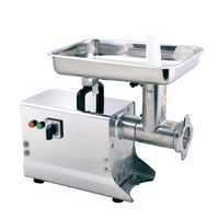 ITOP Commercial ELectric Meat Grinder Stainless Steel Meat Mincer Food Chopper Heavy Duty Food Processors Machine