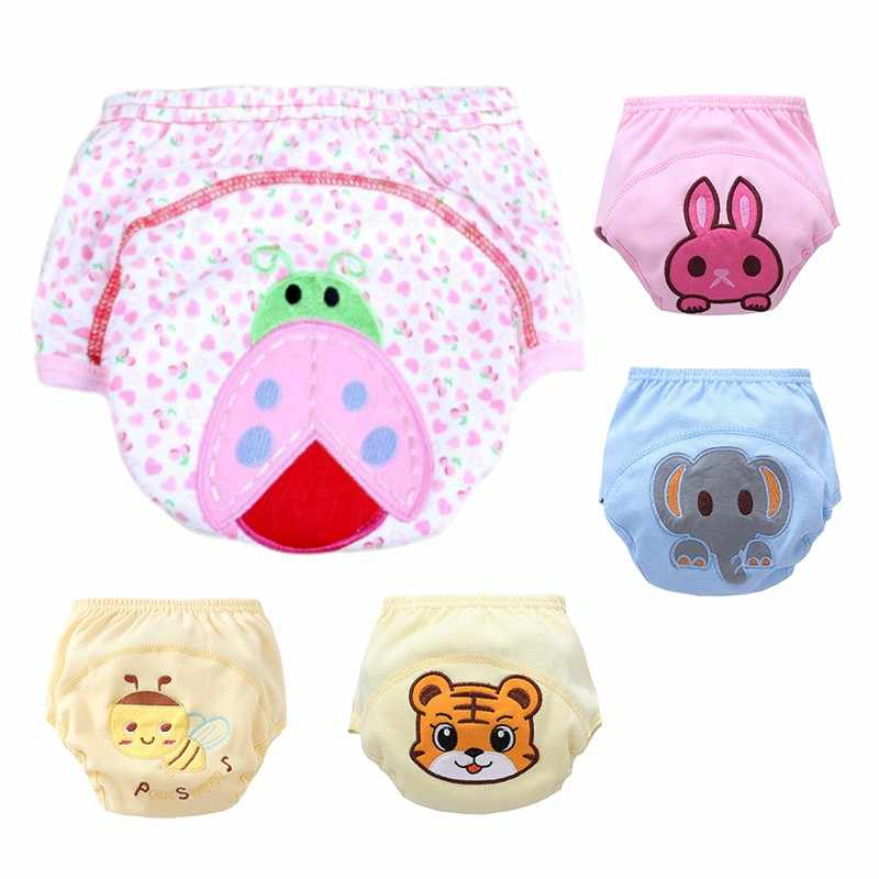 Baby Waterproof Pant Toddler Potty Underwear Reusable Training Pants Infant Newborn Boy Girl Swimming Diapers Nappy Baby Panties