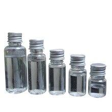 5 個 5 ミリリットル 10 ミリリットル 20 ミリリットル 30 ミリリットル 50 ミリリットル 60 ミリリットル 100 ミリリットルクリームローション化粧品容器旅行キット空の小さなプラスチックボトルスクリューキャップ