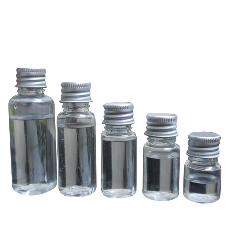 5PCS 5ml 10ml 20ml 30ml 50ml 60ml 100ml Cream Lotion Cosmetic Container Travel Kits Empty Small Plastic Bottle With Screw Cap