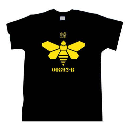 Мужская футболка с круглым вырезом Heisenberg желтая изображением пчелы хит продаж 2019