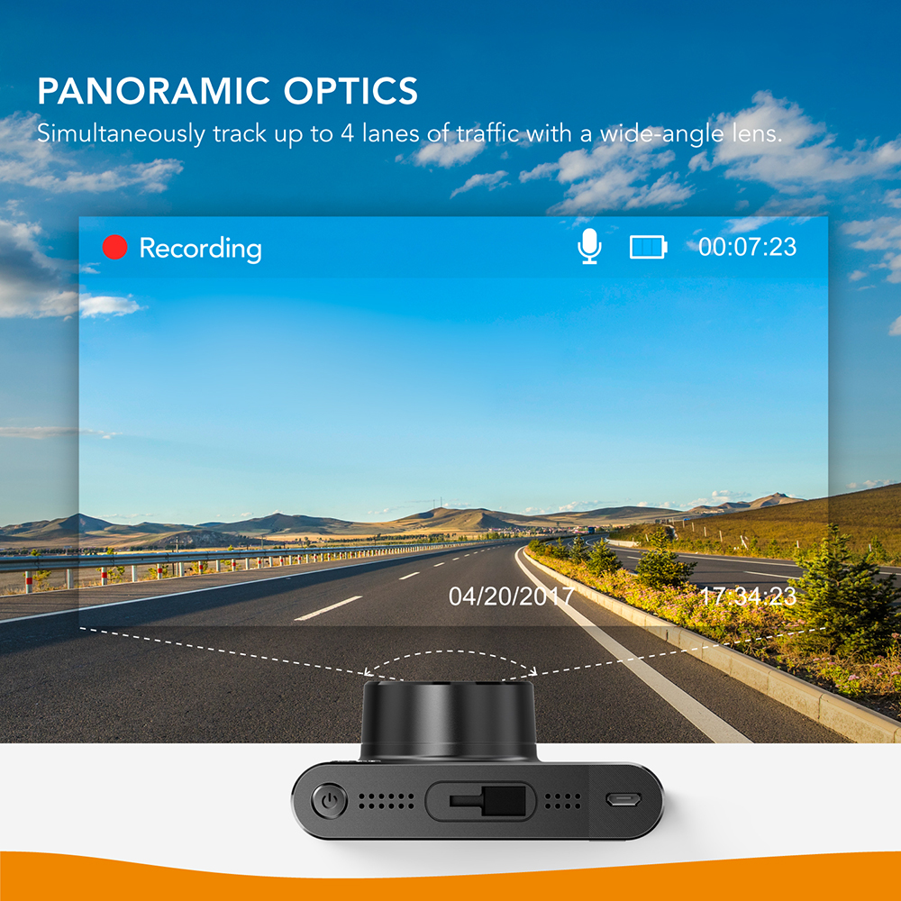 Anker Roav A1 Dash Cam Dashboard Camera Recorder 1080P FHD Nighthawk Wide Angle WiFi G Sensor WDR Loop Recording Night Mode - 5
