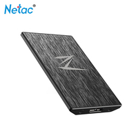 Netac Z1 SATA USB 3.0 SSD 128G 256GB 512G external Solid State Drive Super Speed Cache 256MB Zero Noise With LED For laptop