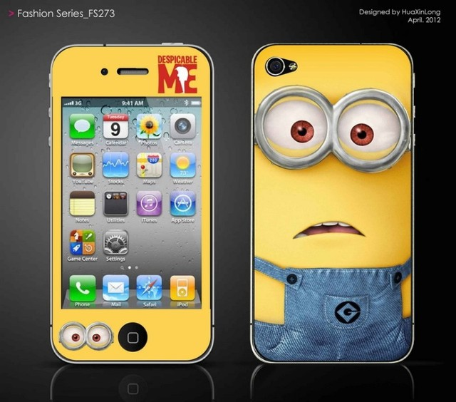b638aae40cd Cubierta, serious amarillo etiqueta hombres para el iphone 4S protector de  pantalla 4 iphone4s celular