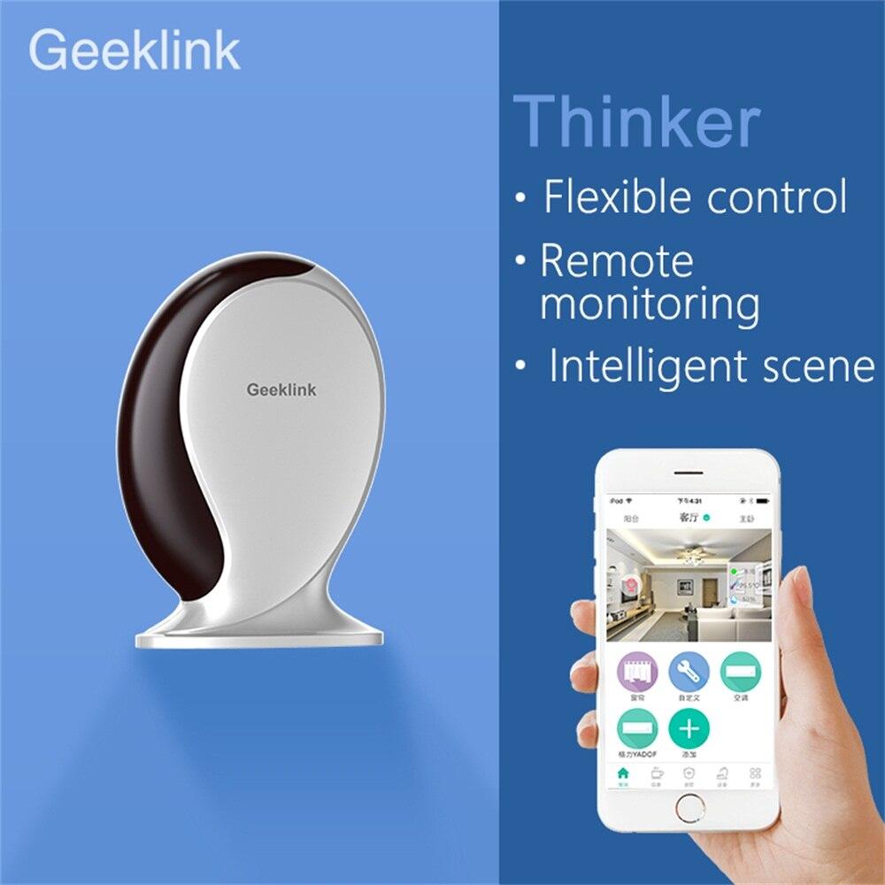 Geeklink Smart Home Automation Controller IFTTT WiFi IR RF Remote Control Center Voice Controller Work With Alexa Google Home - 2