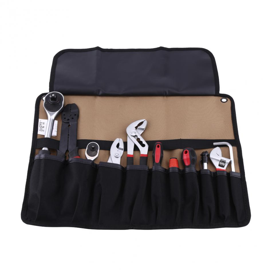 Us 7 05 31 Off Hand Tool Bag Oxford Cloth 600d Storage 45x32x17cm Foldable Roll Pouch Electrician Tools Convenient Holder In