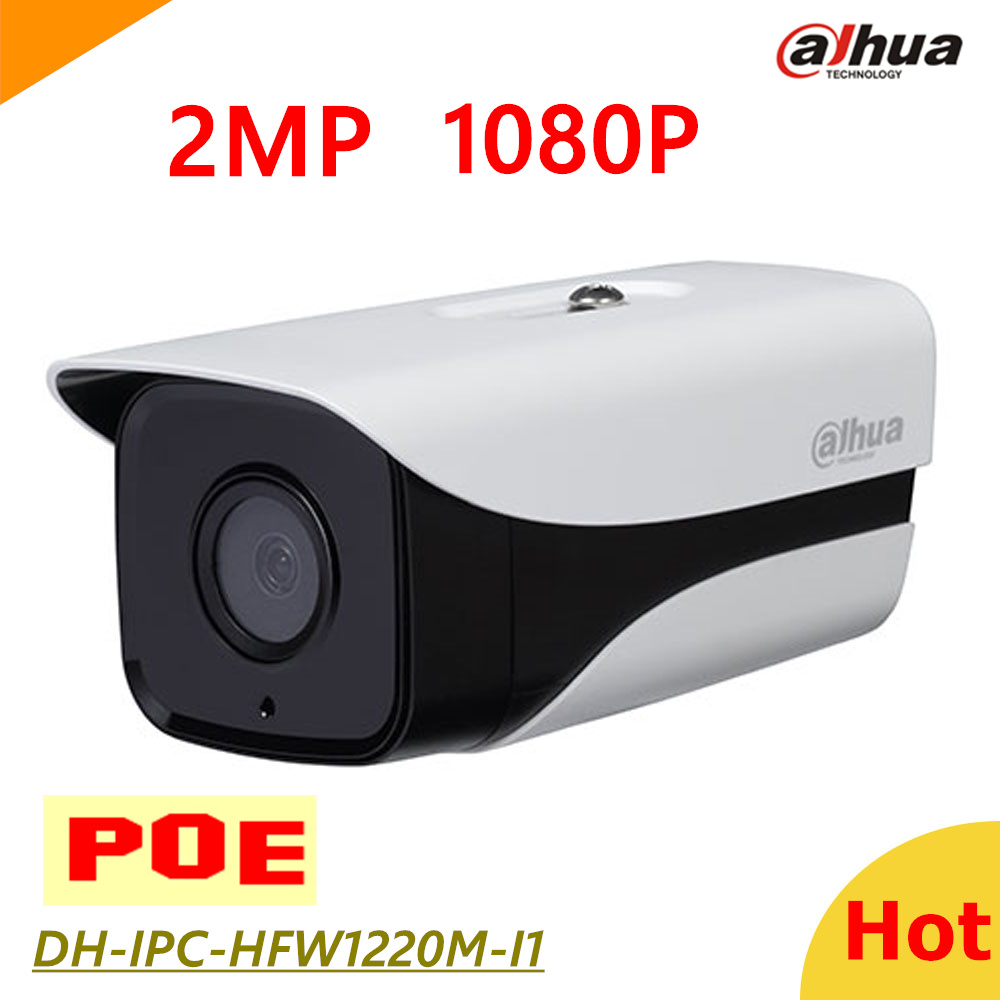Dahua DH-IPC-HFW1220M-I1 Mobile phone Remote monitoring Network IP camera 2mp POE 1080p for IP system IPC-HFW1220M-I1 видеокамера ip dahua dh ipc hdbw2220rp zs 2 7 12мм 1 2 8 1984x1225