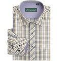 Высокое Качество мужской Классический Клетчатую Рубашку С Длинным Рукавом Платье Рубашка Мужчин Бизнес Формальные Рубашки Mens Clothing Camisa Masculina 2017