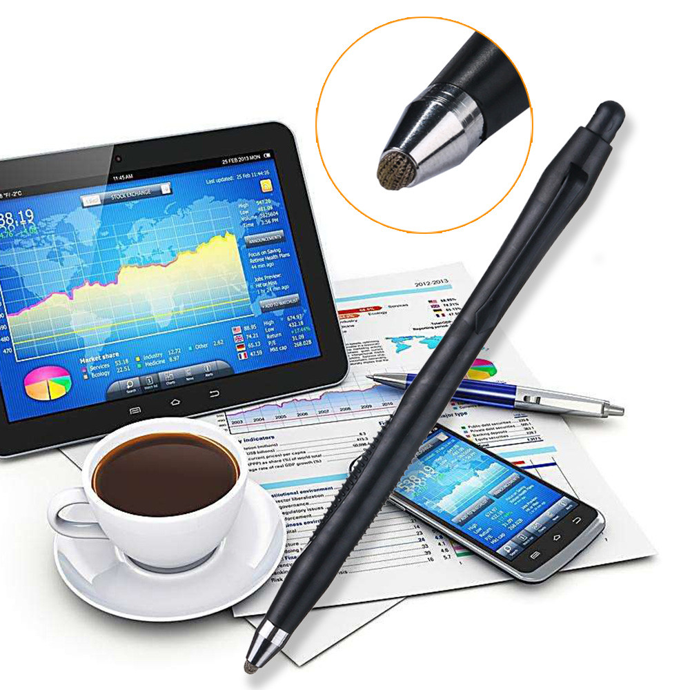 DEWIN High Precision Disc Drawing Stylus Pen with Pen Cap,Compatible with Capacitive Touch Screen for Pad Tablet Smart Phone
