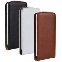 For HTC One M7 801E Genuine Real Leather Case Flip Cover Mobile Phone Accessories Bag Retro Vertical PS(China)
