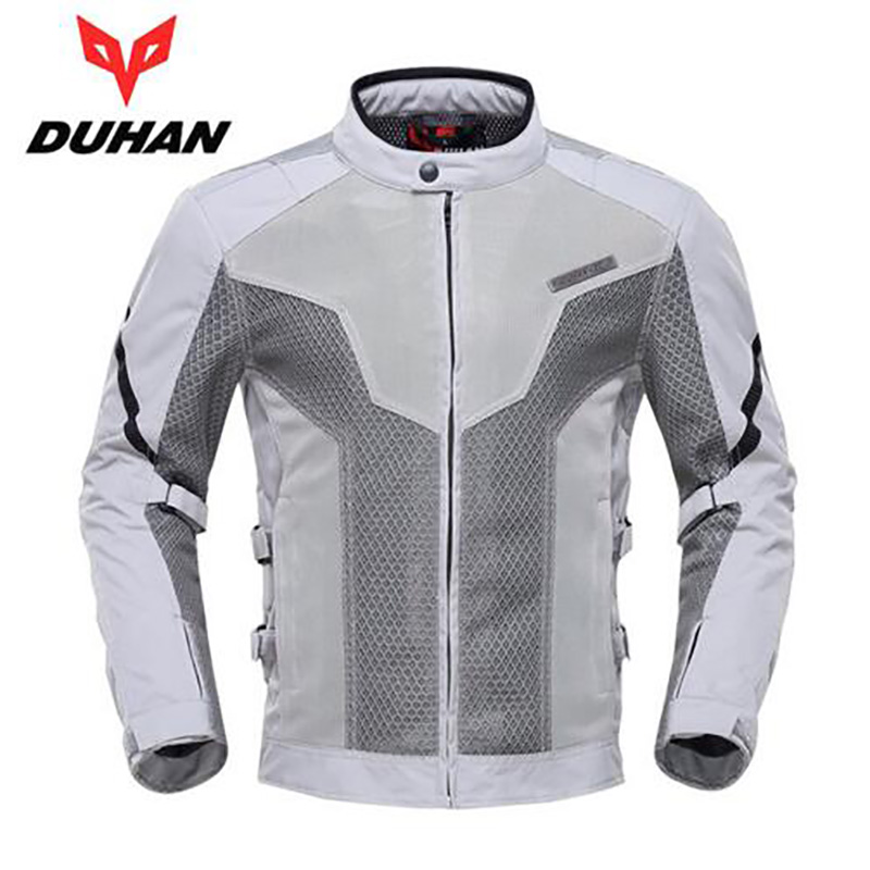 Motorcycle Moto Touring Travel Jackets Riding Clothing Motocross Jaqueta Summer Cool Breathable Mesh Cloth Racing Jacket duhan men s motocross outdoor riding reflective desgin waistcoat clothing motorcycle jackets summer racing vest jaqueta