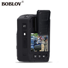"BOBLOV 2.0"" HD 1080P Police Body Worn Video GPS DVR Audio Recorder Camera 64GB Ambarella Motion Detection Working up to 6 hours"