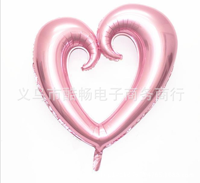 1pcs 30 Inch Love Heart Foil Balloon Cartoon Ballon For Wedding Party Christmas Decoration Baloon Toys