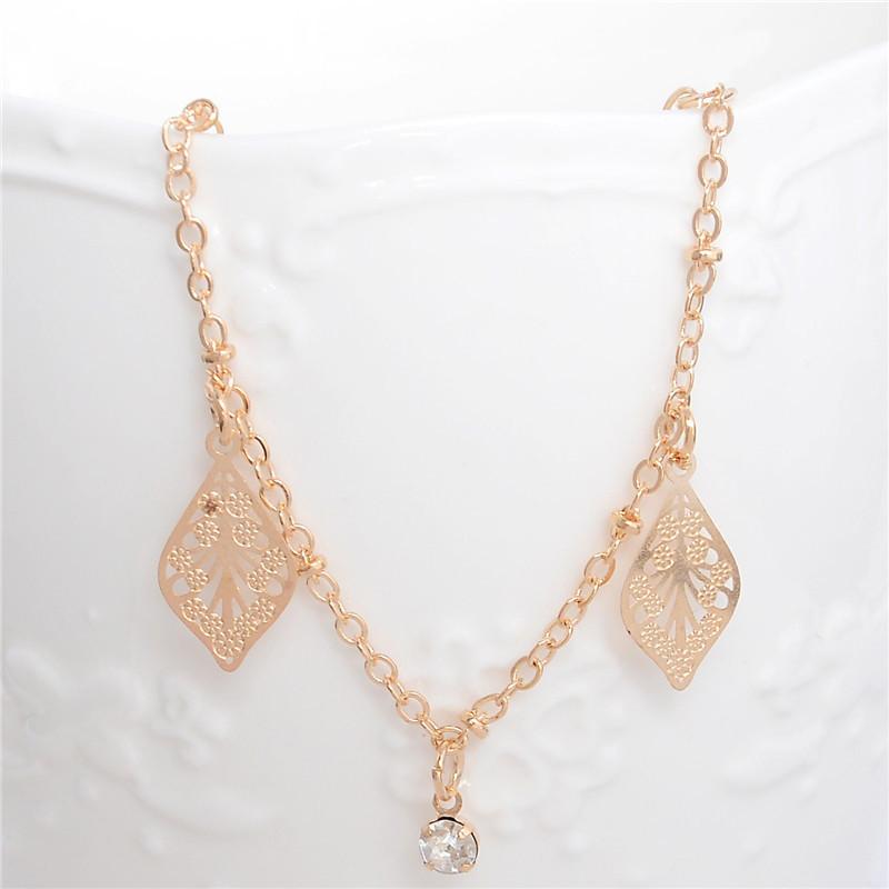 HTB13xhxLpXXXXbBXVXXq6xXFXXX4 Golden Foot Chain Jewelry Spirituality Ankle Bracelet For Women - 5 Styles