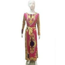 Fashion Folk Art Print African Dress