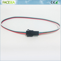 100pcs 2pin 3pin 4pin 30cm 50cm 1m 1.5m 2m JST SM Male to Female LED Strip Connector 22AWG