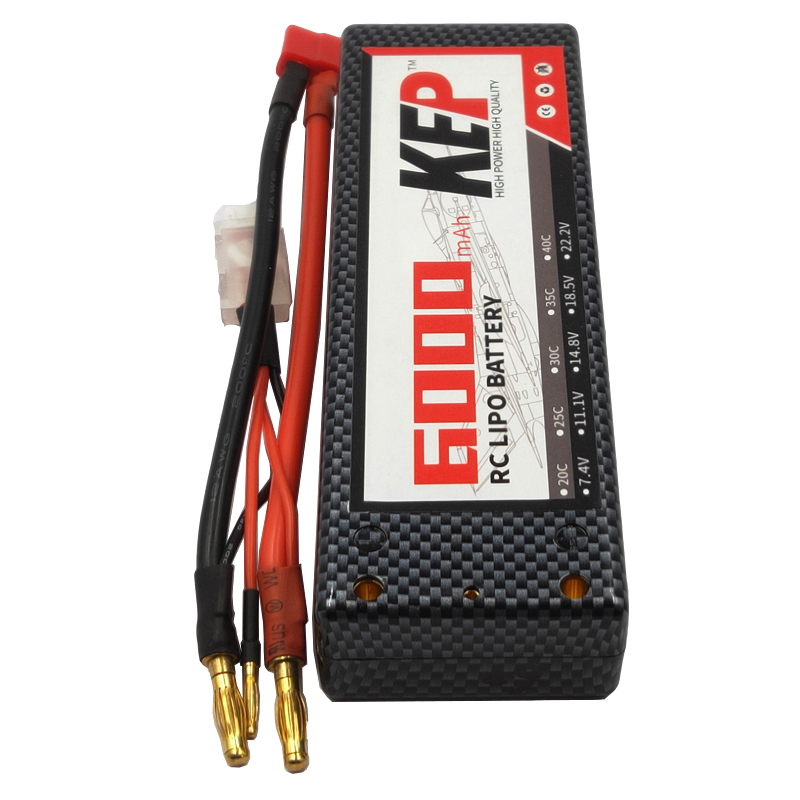 High Quality 1pcs 2pcs 3pcs RC <font><b>Lipo</b></font> Battery <font><b>2S</b></font> 7.4V <font><b>6000mAh</b></font> 35C Hard Case Electric Remote For RC Helicopter Car Boat XT60 <font><b>2S</b></font> image