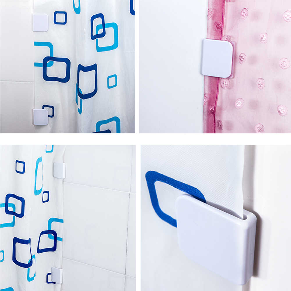2pcs Shower Curtain Clips Anti Splash Spill Stop Water Leaking Guard Bathroom High Quality Hot Sale