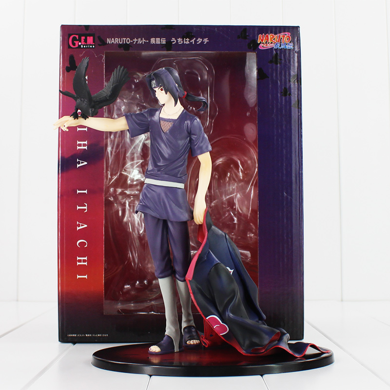 Hot Anime Naruto Uchiha Itachi MEGAHOUSE MH GEM PVC Action Figure Collection Model Toys Christmas Gifts