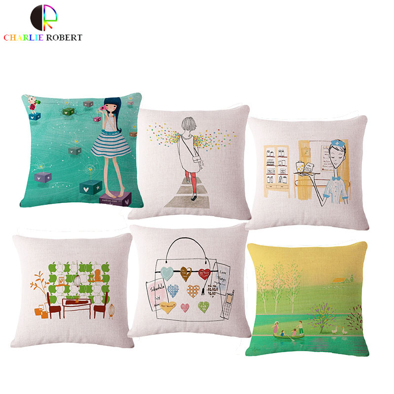Clásico 17 hogar sofá decorativo Cojines Mantas Almohadas sin ...