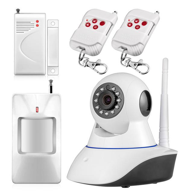 Full hd 720 p onvif câmera de segurança ip sem fio wifi câmera cmos night vision motion detector home security