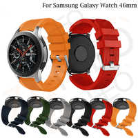 Silikon Sport Handgelenk Strap Für Samsung Galaxy Uhr 46mm Uhr Bands 22 mm für Xiaomi Huami Amazfit 2/ 2S Armband Band SM-R800