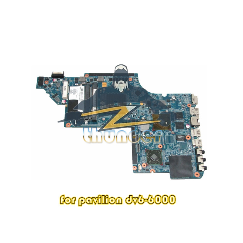 665280-001 for HP pavilion dv6 laptop motherboard socket FS1 HD6490 512M DDR3 nokotion 645385 001 main board for hp pavilion dv7 6000 laptop motherboard socket fs1 ddr3 ati hd6490