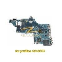 665280 001 for HP pavilion dv6 laptop motherboard socket FS1 HD6490 512M DDR3