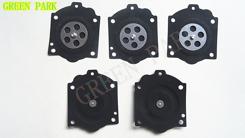 5PCS METERING DIAPHRAGM FOR WALBRO HDB WG WB CARBURETOR SPARE PARTS MCCULLOCH Pro Mac 610 650 605 655 AND CARB REPAIR KIT K15-WJ купить