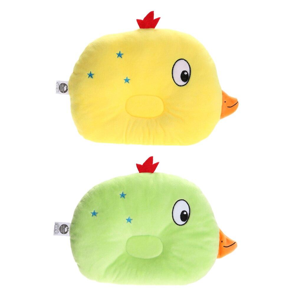 Cartoon Bird Baby Pillow Newborn Infant Shape Toddler Sleep Positioner Flat Head Pillow Soft Sleeping Positioner Kids Protection