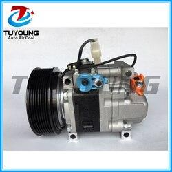 Nowe auto sprężarka klimatyzacji dla MAZDA 6 2.2L GAM661K00 GDB161450 H12A0CA4JE H12A1AQ4HE 8 PK-125 MM R134A otwór wlotowy