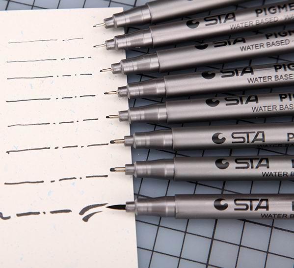 Genuine 8050waterproof Hand-painted Pens Hook Line Pen Pen Stroke Comic Sketch Designh Art Markers