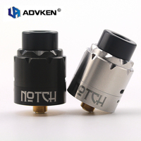Electronic Cigarette Atomizers Original Advken Notch RDA 24mm Dual Posts with Bottom Feed Pin for 510 Thread