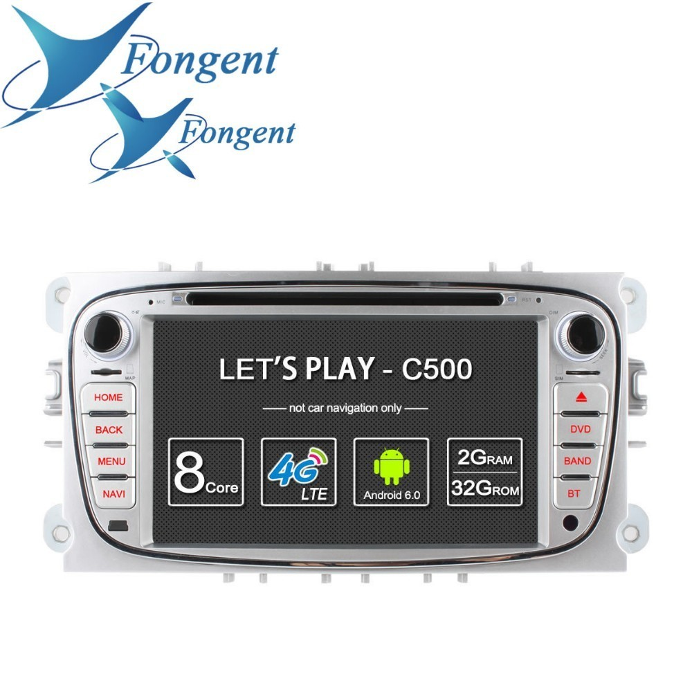 For FORD Mondeo S MAX Connect FOCUS 2 2008 2009 2010 2011 Car Intelligent System Multimedia 4G LTE Android Radio DVD Player GPS