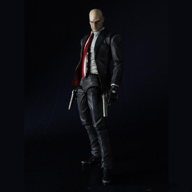 Hitman Codename Killer 47 Play Arts Game PVC Action Figure Resin Collection Model Toy Gifts Cosplay image