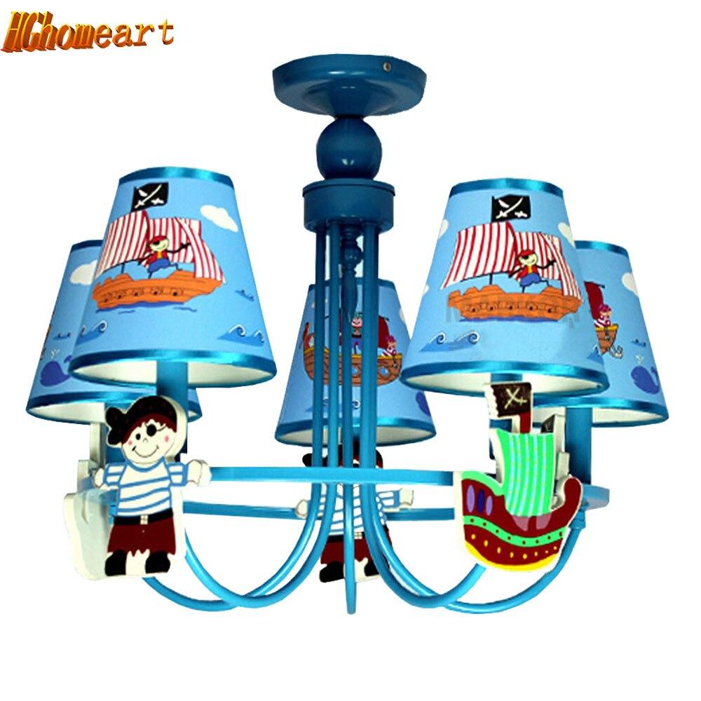 110V 220V LED E14 Luxury Lustre Design Kids Room Cartoon Led blue Chandelier Contemporary Led Home Lighting Led Lamp hghomeart creative cartoon chandeliers led crystal chandelier kids room luminarias wrought iron lamp lustre suspension