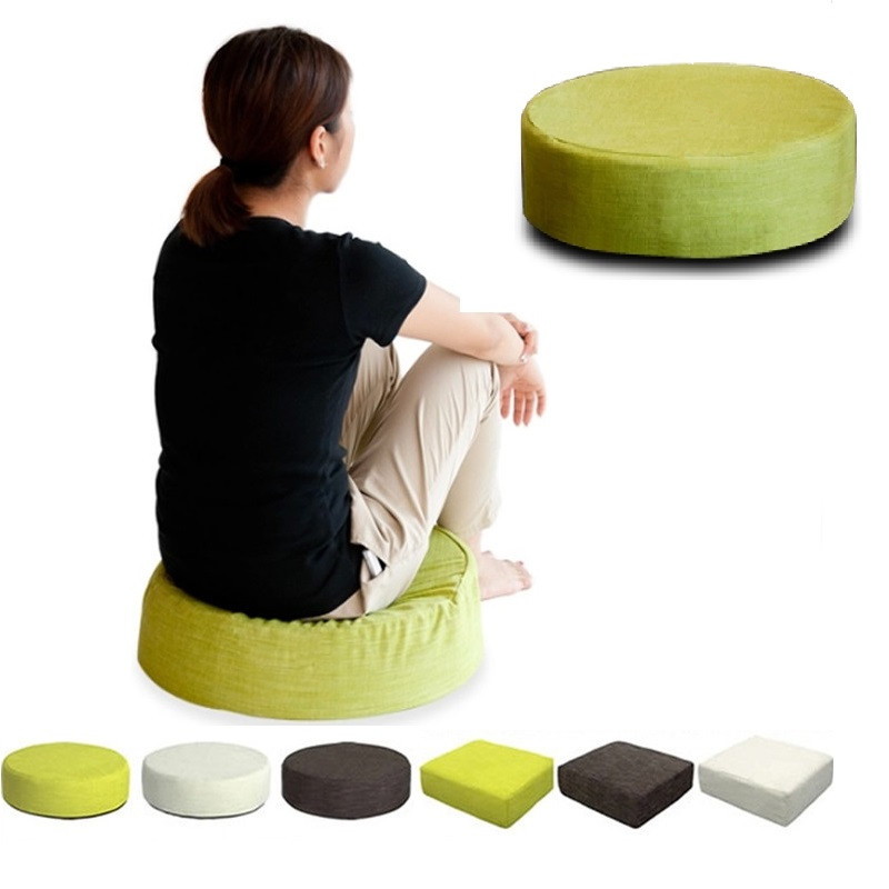 Soft Round Dining Cushion Chair Seat Thick Sponge Cushion Bean Bag Read  Book Watch TV Removable Washable Buttocks Pad Sofa In Living Room Sofas  From ...