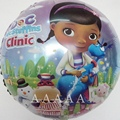 5pcs little toy doctor clinic balloons Doc McStuffins balloons for happy birthday balloons party decoration free shipping