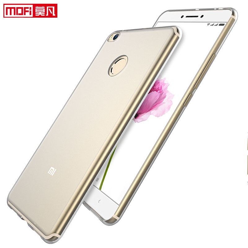 Xiaomi Mi max2 case Xiaomi max 2 cover silicon clear soft back mofi ultra thin 6 44 quot xiaomi mi max 2 cover xiaomi max 2 case in Fitted Cases from Cellphones amp Telecommunications