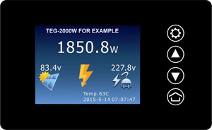 Image 4 - Mppt 2000 ワット 2KW 風力発電グリッドタイインバーターダンプ負荷コントローラ/抵抗 3 相 48v 60v 72 風力タービン発電機