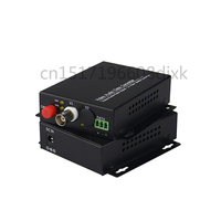 HD CVI AHD TVI 720P 960P 1CH Fiber Optic to BNC Digital Video Converter fiber optical transmitter and receiver