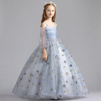 51debf4423d672f 2019 Новое модное летнее кружевное платье для девочек - b.stephdunn.me